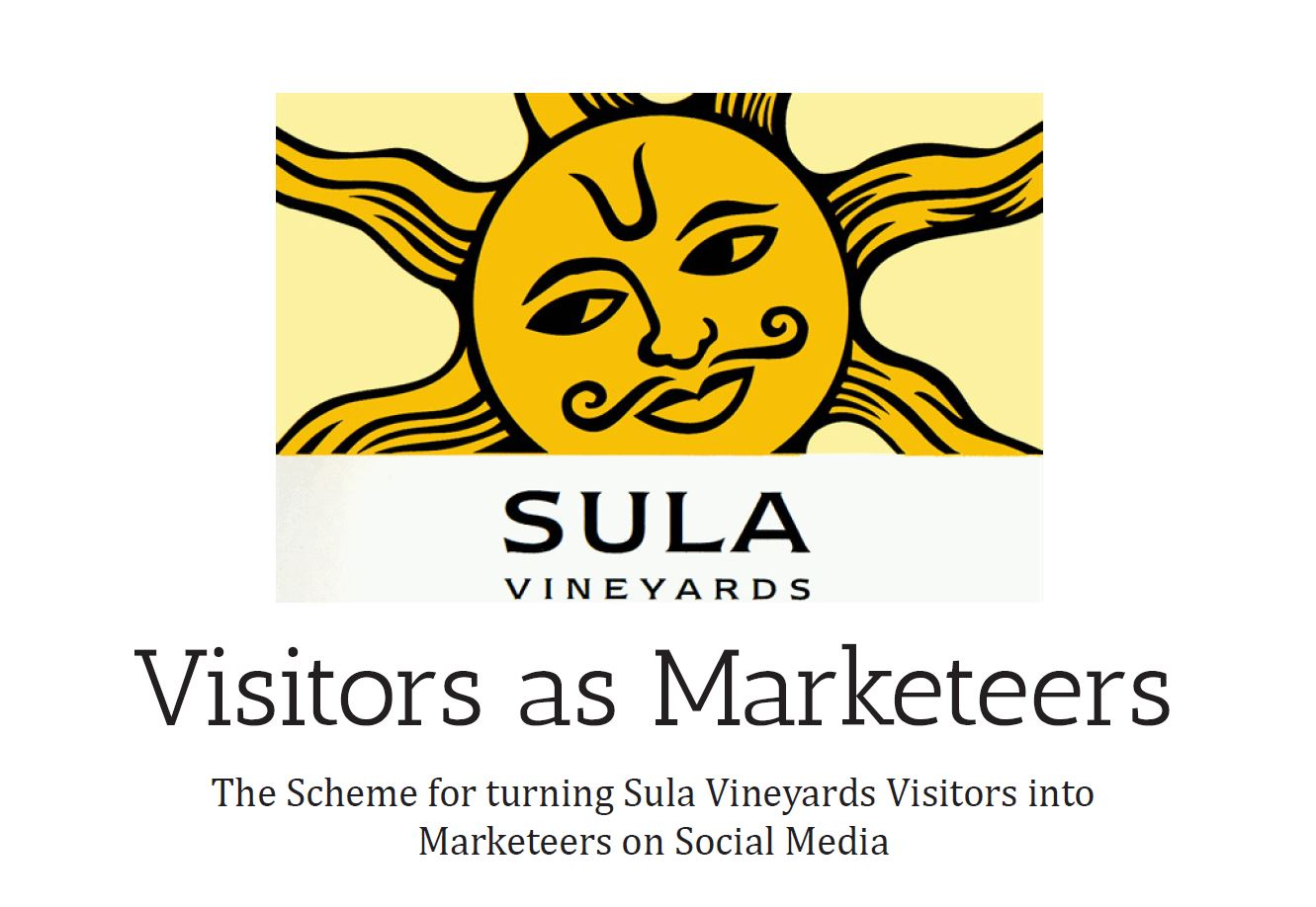 Social media consulting for wine estate