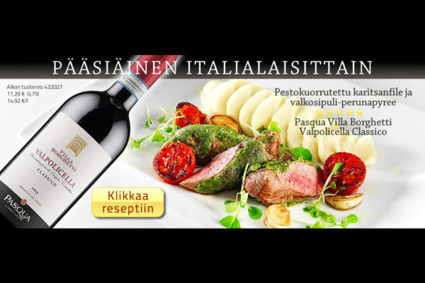 Online campaign for Pasqua